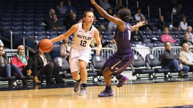 Butler sophomore Sydney Buck had 10 points, including two three-pointers in her team's 65-53 win over TCU on Tuesday.