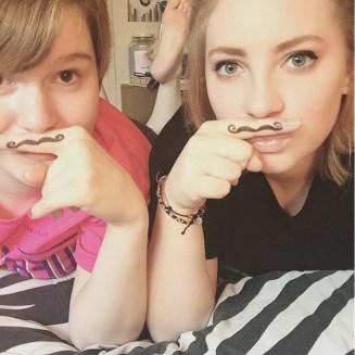 Carissa mustache