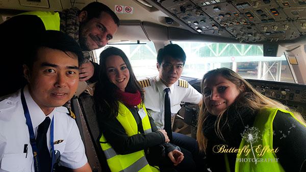 happy with Singapore crew
