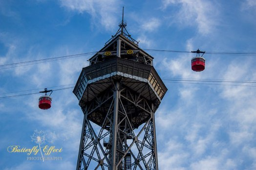 teleferic of Montjuic
