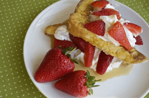 Organix french toast