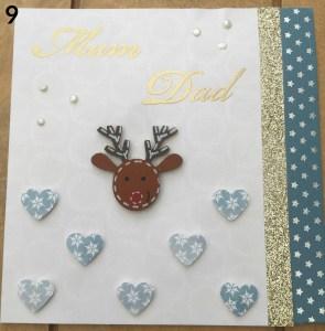 cardmaking embellishment numbered