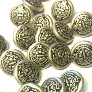 solid metal buttons Archives - The Button Shed
