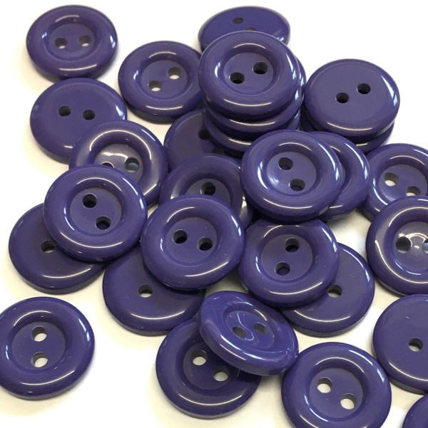 round purple buttons