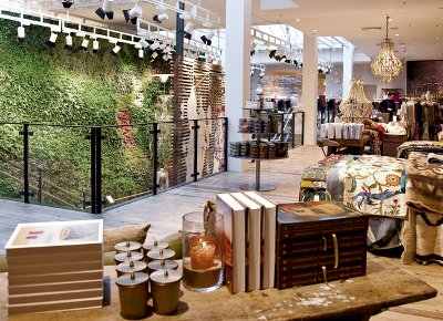 Anthropologie London Regent Street Store