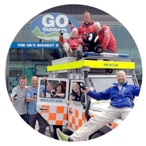 Image of a public relations campaign by the Buzz Factory in Preston for GO Outdoors