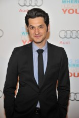 Ben Schwartz arrives at Cluny Bistro for the film party presented by Audi after the special presentation screening of This Is Where I Leave You during the Toronto International Film Festival.