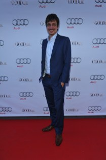 Philippe Falardeau arrives at Nota Bene for the film party presented by Audi after the special presentation screening of The Good Lie during the Toronto International Film Festival.