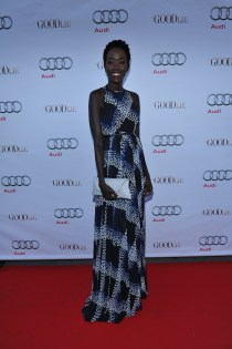 Kuoth Wiel arrives at Nota Bene for the film party presented by Audi after the special presentation screening of The Good Lie during the Toronto International Film Festival.