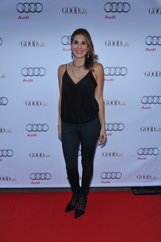 Molly Smith arrives at Nota Bene for the film party presented by Audi after the special presentation screening of The Good Lie during the Toronto International Film Festival.