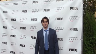 Ben Schnetzer arrives at The Citizen for the film party presented by Audi after the special presentation screening of PRIDE during the Toronto International Film Festival.
