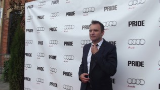 Matthew Warchus arrives at The Citizen for the film party presented by Audi after the special presentation screening of PRIDE during the Toronto International Film Festival.