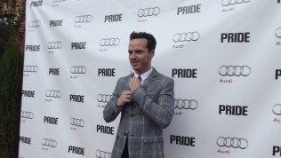 Andrew Scott arrives at The Citizen for the film party presented by Audi after the special presentation screening of PRIDE during the Toronto International Film Festival.