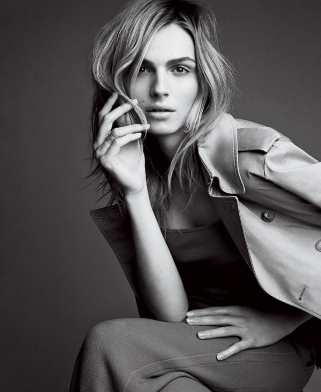 Andreja Peijic in Vogue this week