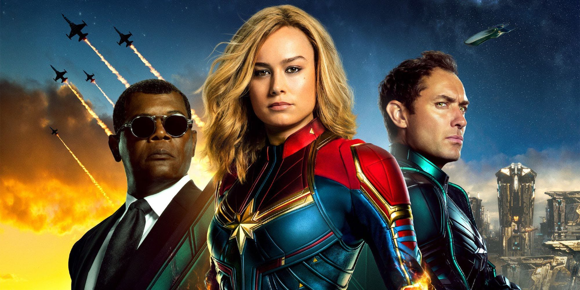 """captain marvel"""" is full of action, 90's nostalgia and girl"""