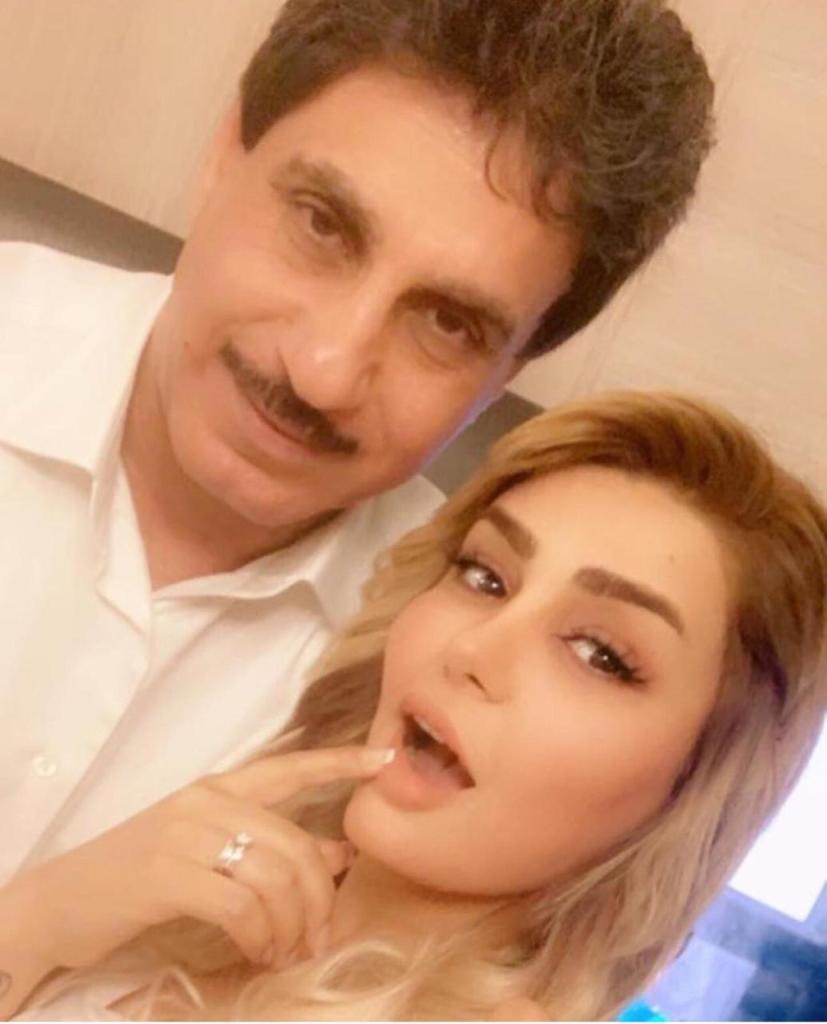 الإعلامية العراقية  آن صلاح و رجل الأعمال الخليجي د.توفيق الدوسري