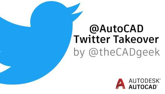 AutoCAD Twitter Takeover