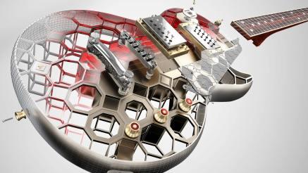 AutoCAD 2019 Guitar