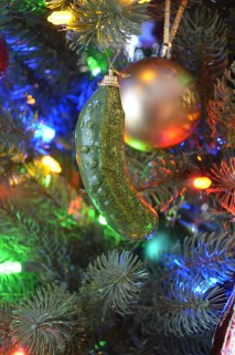 Christmas Pickle given to family by Megan in 2014.