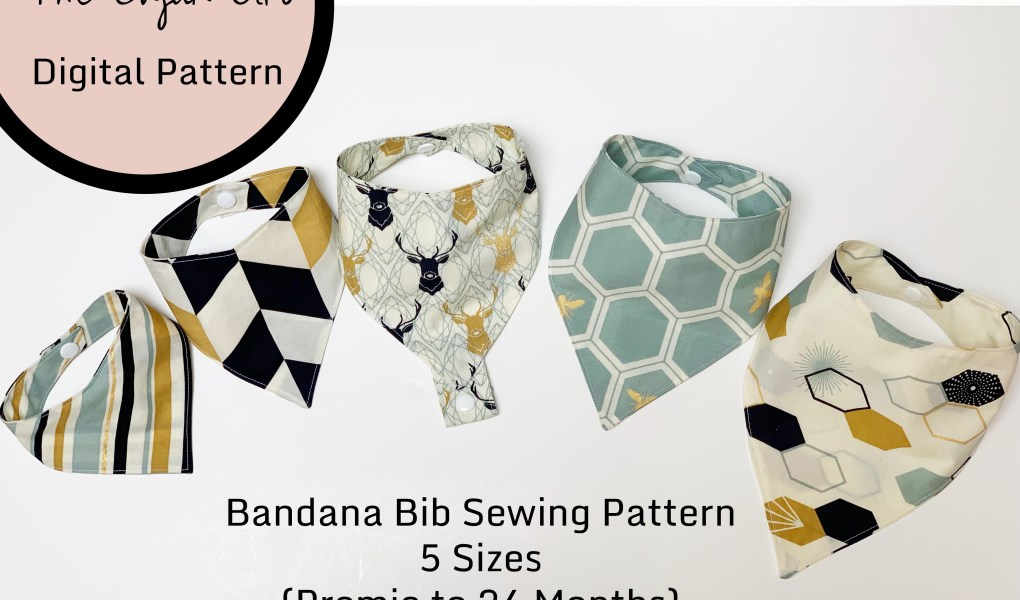 Bandana Bib Sew-A-Long - The Cajun Girl