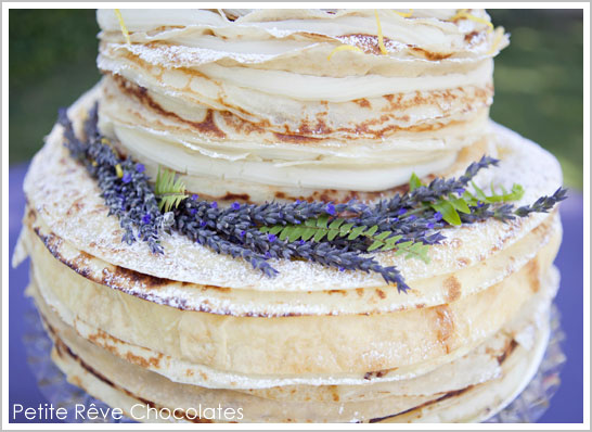 300 Layer French Crepe Cake 300 Layer Crepe Cake by Petite R    ve Chocolates