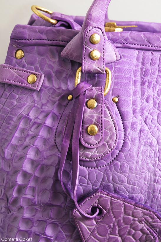 Designer Handbag CAKE by Confetti Cakes  |  TheCakeBlog.com