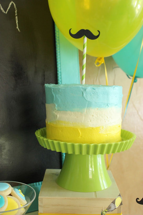 Little Man Birthday Party The Cake Blog