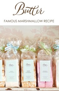 Butter's Famous Marshmallow Recipe   from Butter Baked Goods by Rosie Daykin   TheCakeBlog.com