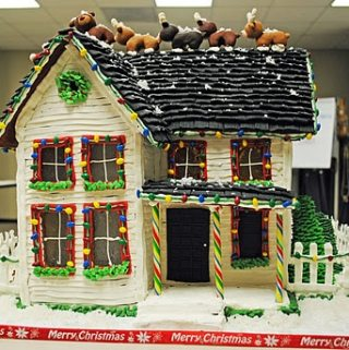 The Victorian Farmhouse (My Gingerbread House)
