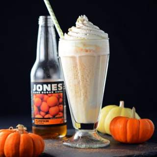 Pumpkin Pie Ice Cream Float