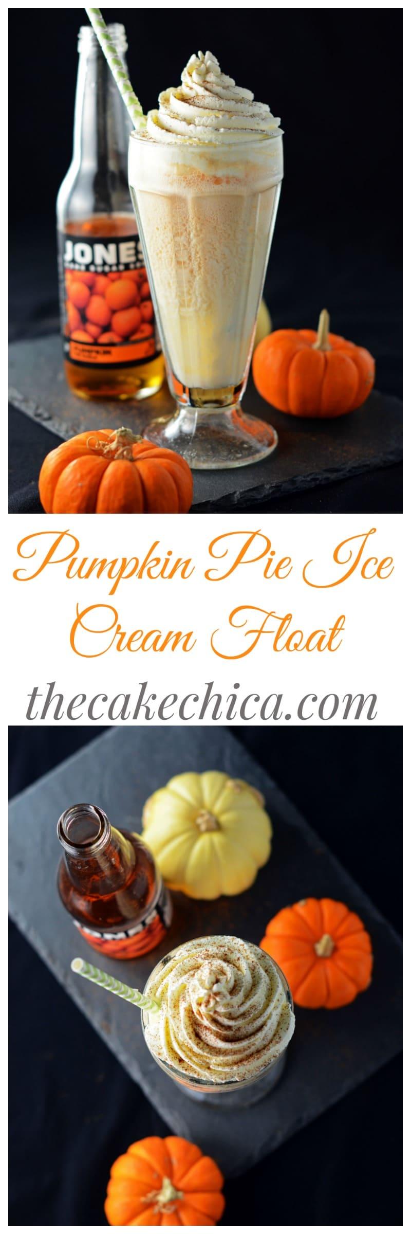Pumpkin Pie Ice Cream Float