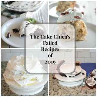The Cake Chicas Faile Recipes of 2016