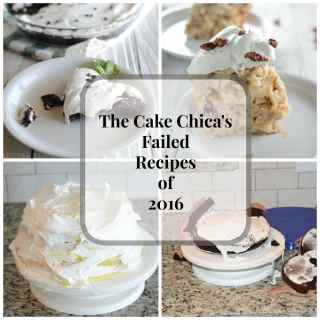 Failed Recipes of 2016