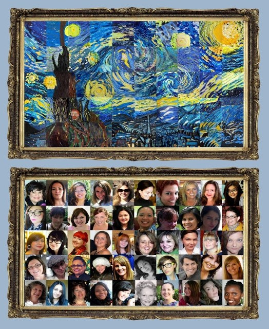 Nuestro Starry Night y los 50 decoradores de tartas