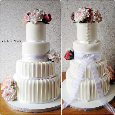 Collage de mi tarta de BODA