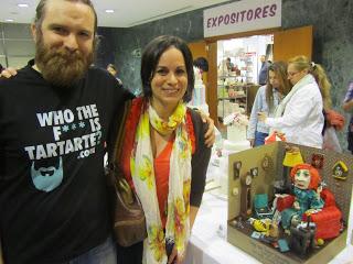 Con Andres de Tartas Creativas Tartarte