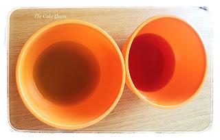 gelatina de lima y frambuesa