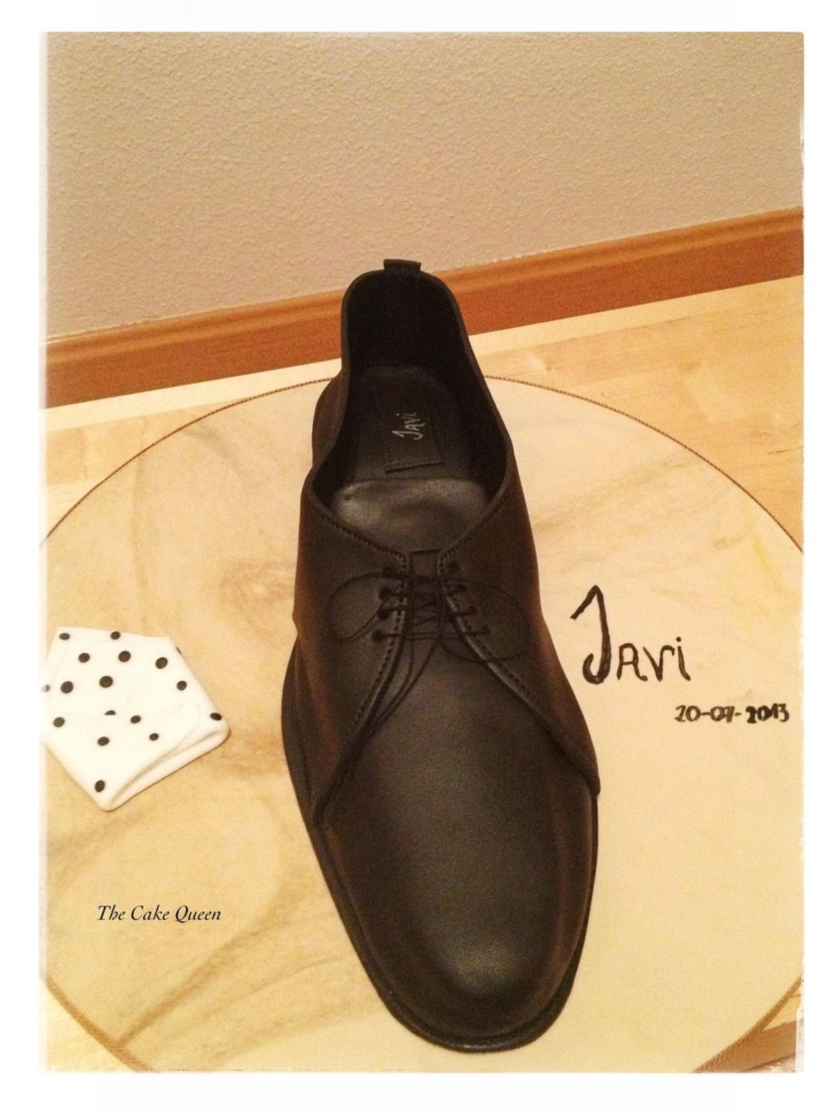 Zapato de azúcar para Javi