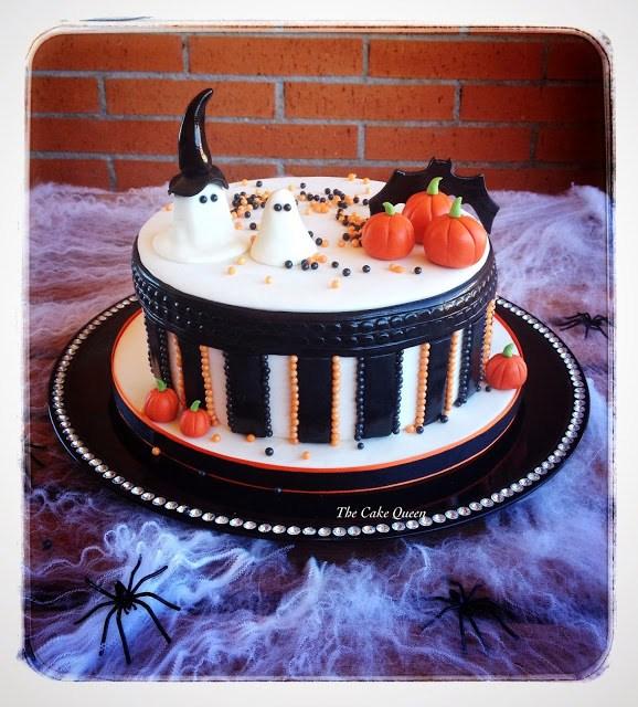 Mi tarta para el reto de Halloween