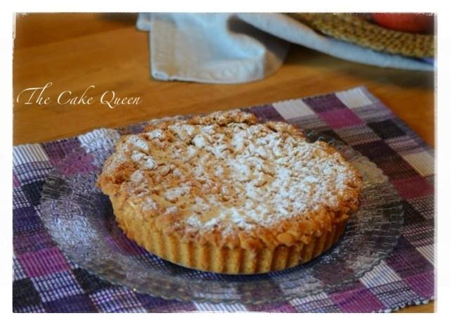 "Tarta de manzana polaca ""szarlotka"", una tarta preciosa"