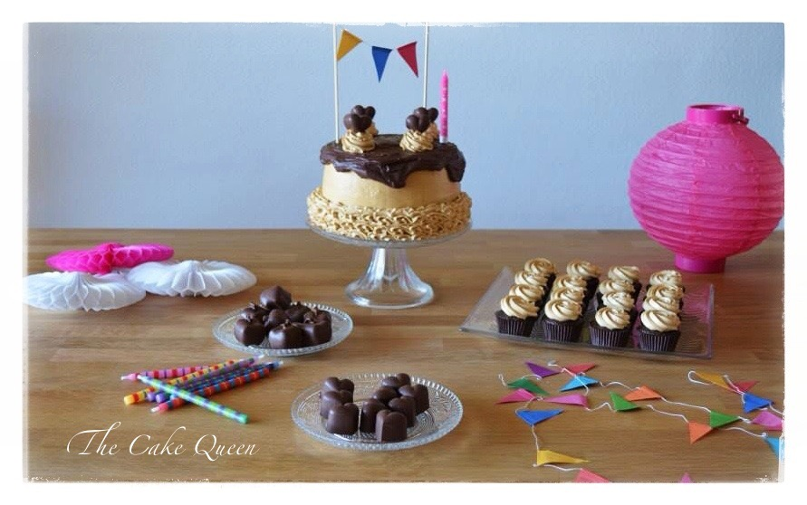 """Mi tarta de cumpleaños """"Tarta de chocolate y dulce de leche"""""""