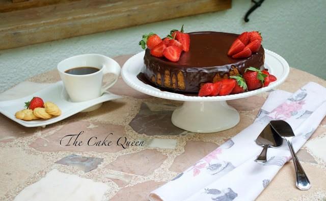 Cheesecake de chocolate, deliciosa