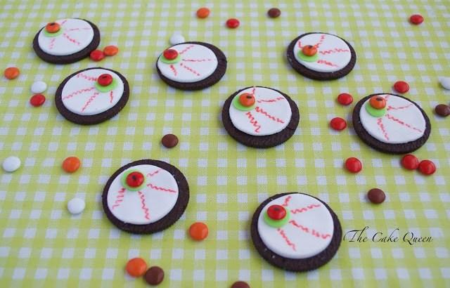 Ideas para Halloween con mini lacasitos: Galletas terroríficas, a los peques les encanta estas galletas