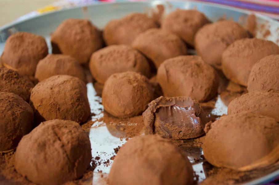 Trufas de chocolate para veganos, una receta sencilla de elaborar y están para chuparse los dedos