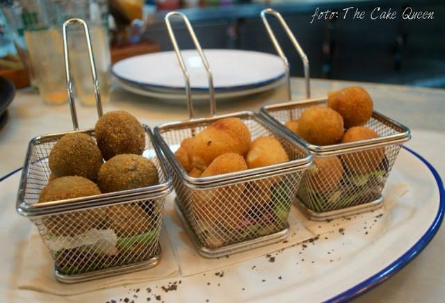 croquetas del restaurante La Lata Montada