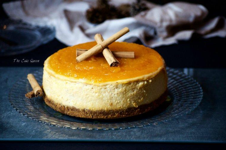 Especial de cheesecakes: Cheesecake de calabaza