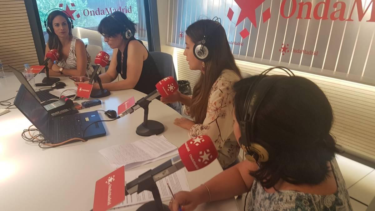 Pastel de huevos fritos un trampantojo muy dulce. EN la radio en el progrrama de Beatriz Sabido de Buenos días Madrid de Onda Madrid