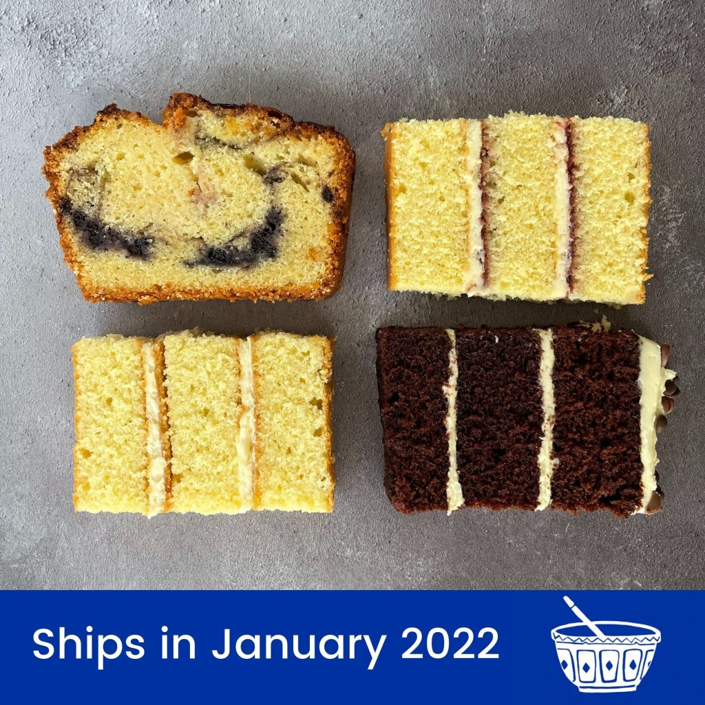 The Cake Tasting Club Only Cake Box January 2022