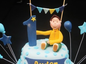 1st Birthday boy cake topper