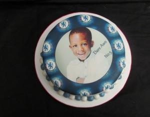 Chelsea Logo Photo Cake